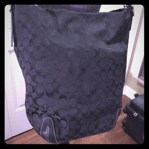Coach Classic Canvas Bleecker Duffle Carryon Bag
